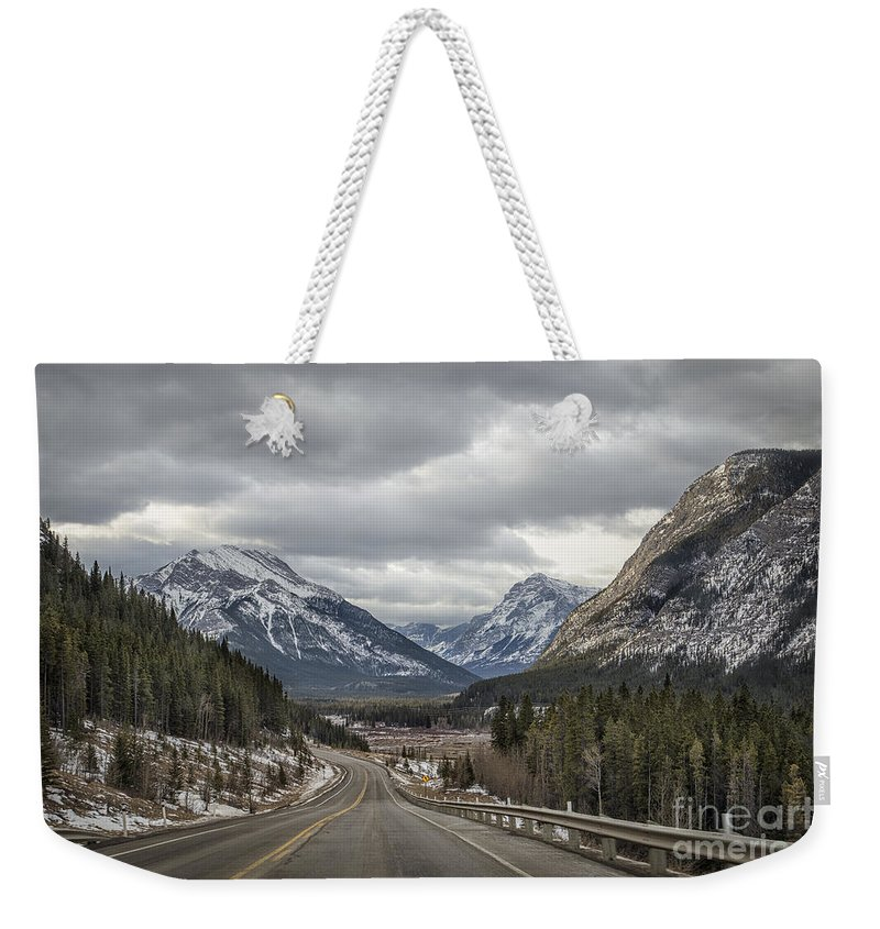 Banff Weekender Tote Bag featuring the photograph Dream Journey by Evelina Kremsdorf