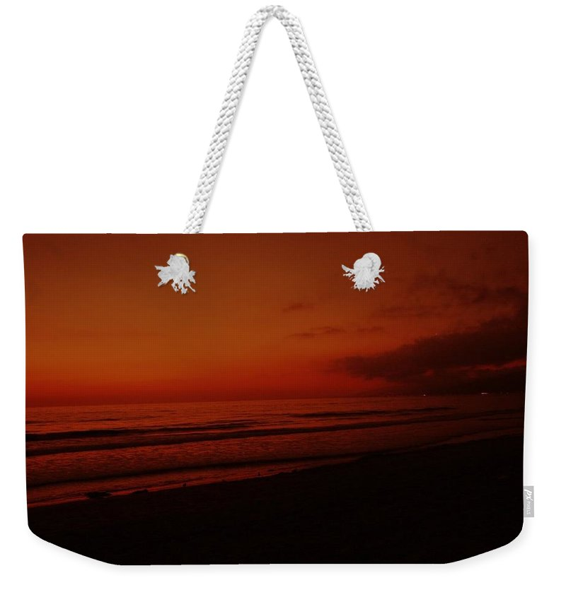 Sunset Weekender Tote Bag featuring the photograph Dream Of Sunset by Keisha Marshall