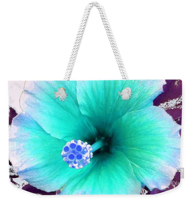 Dream Weekender Tote Bag featuring the photograph Dreamflower by Linda Bailey
