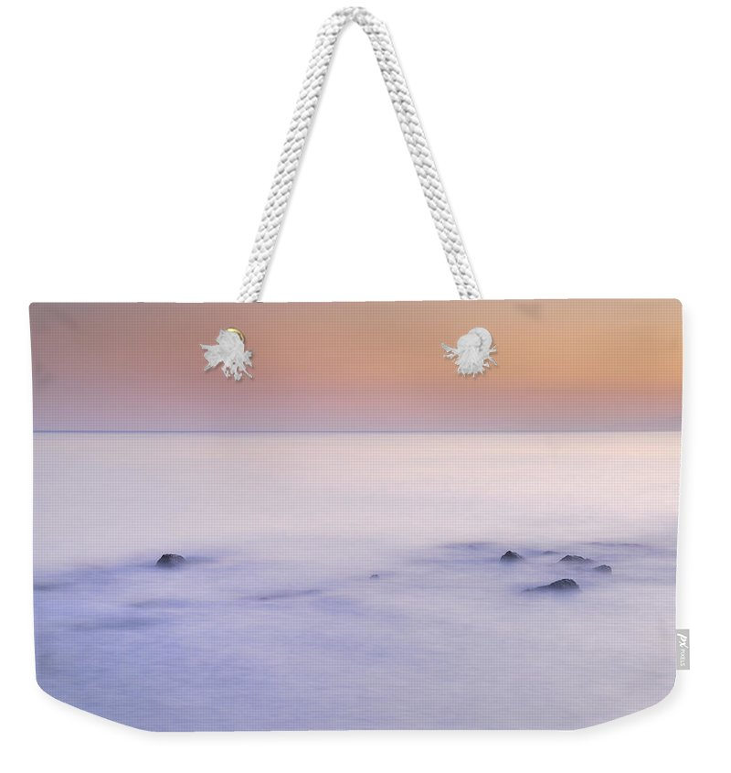 Seascape Weekender Tote Bag featuring the photograph dreaming between the islands II by Guido Montanes Castillo