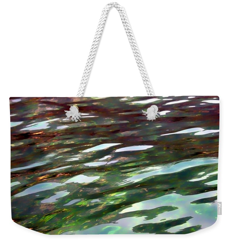 Water Weekender Tote Bag featuring the photograph Dreaming On The Water by Donna Blackhall