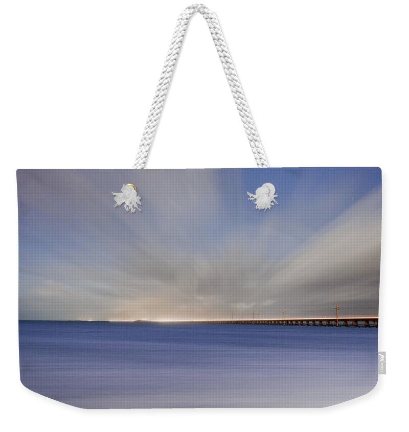 Key Weekender Tote Bag featuring the photograph Drifting Home Again by Scott Meyer
