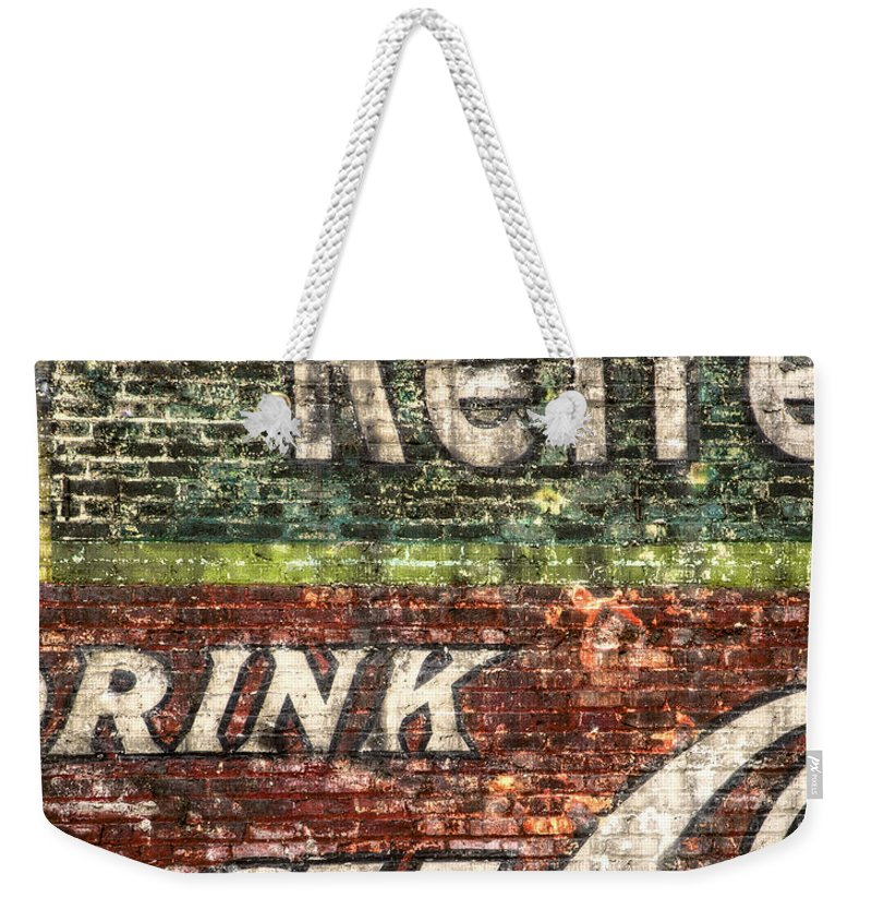 Building Weekender Tote Bag featuring the photograph Drink Coca-cola 1 by Scott Norris