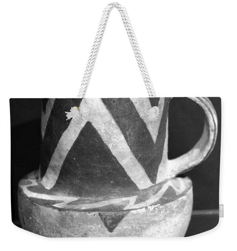Anasazi Mug Weekender Tote Bag featuring the photograph Drink Of The Ancient Ones by David Lee Thompson