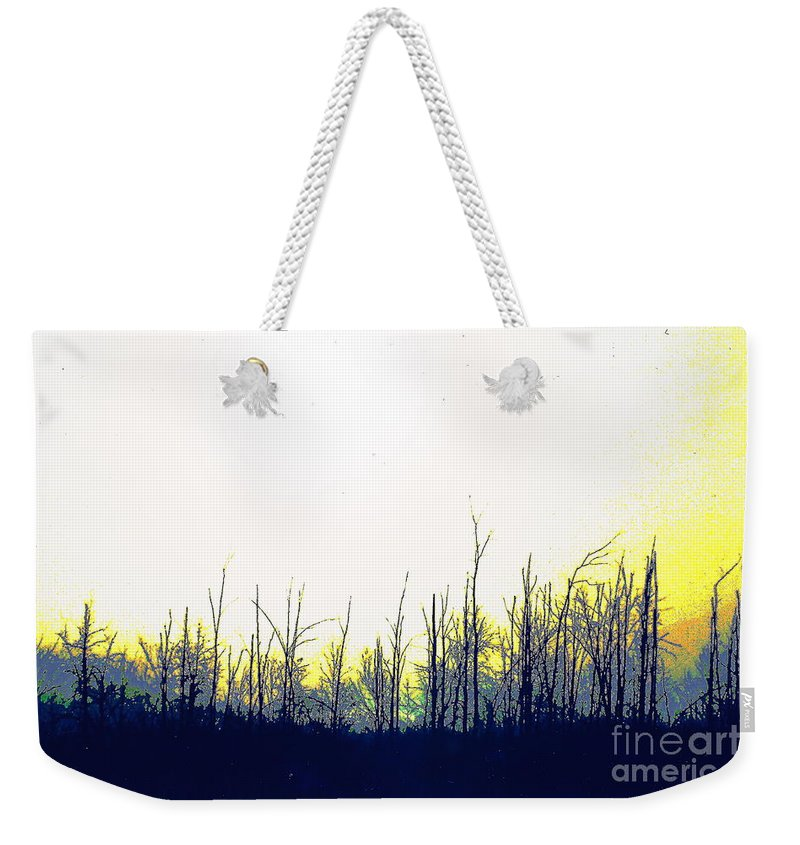 Landscape Weekender Tote Bag featuring the photograph Dudleytown by Jesse Ciazza