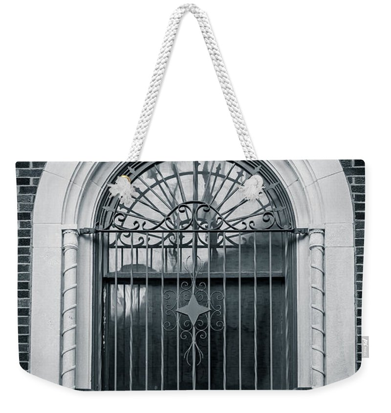 Architecture Weekender Tote Bag featuring the photograph Dwyer Street Window 2 by Melinda Ledsome