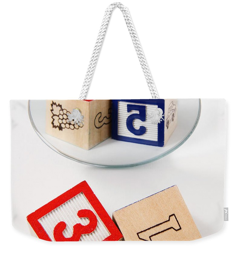 Object Weekender Tote Bag featuring the photograph Dyslexia by Photo Researchers
