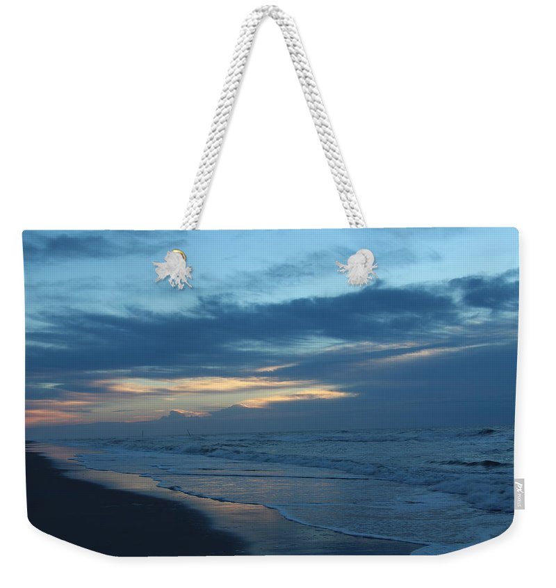 Topsail Weekender Tote Bag featuring the photograph Early Light #1 by Rand Wall