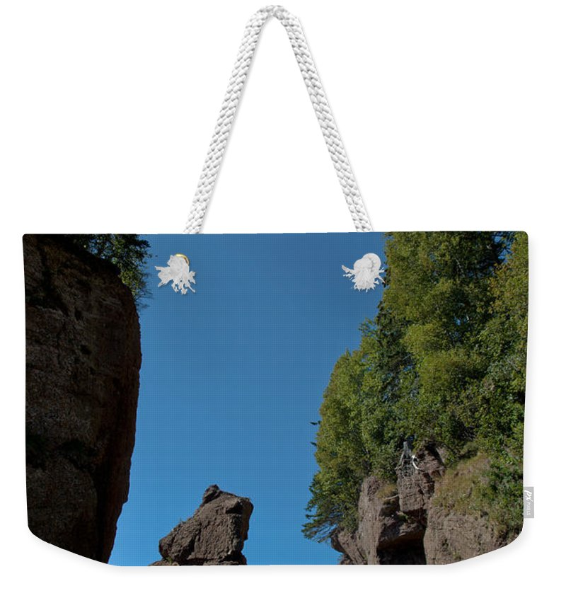 Weekender Tote Bag featuring the photograph East Coast Landmark by Cheryl Baxter