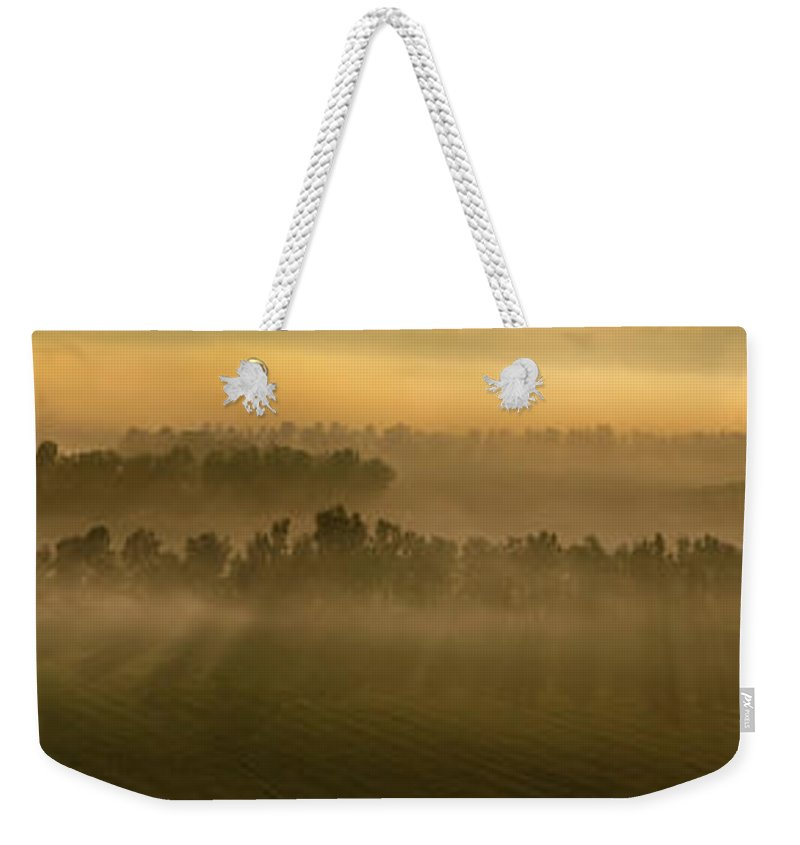 Farm Weekender Tote Bag featuring the photograph Easter Morning by La Rae Roberts