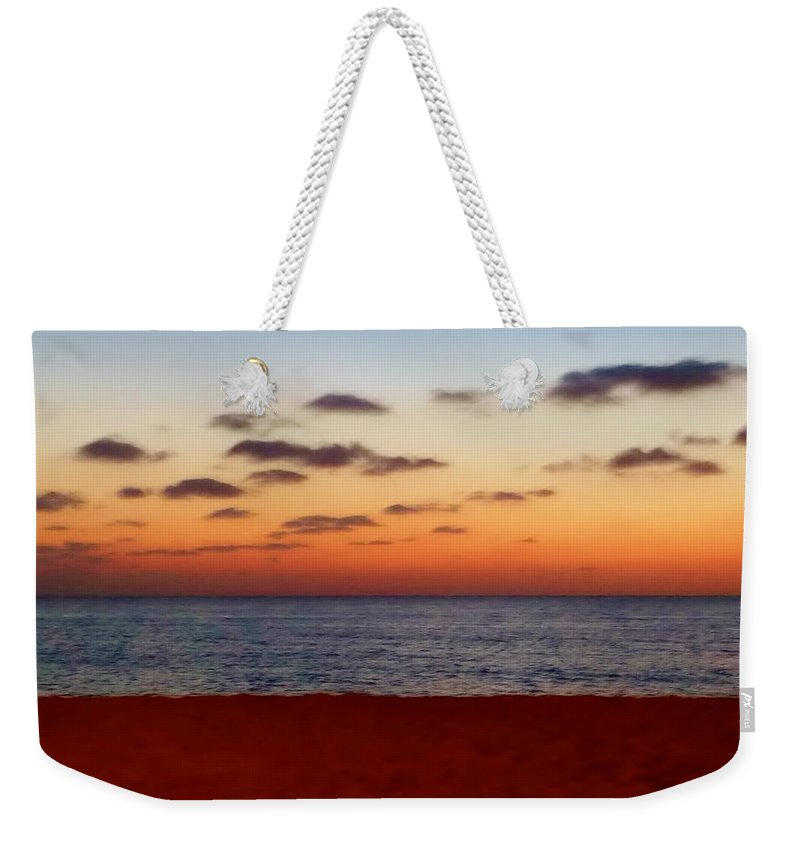 April Sunset Weekender Tote Bag featuring the photograph Easter Sunset by Amar Sheow