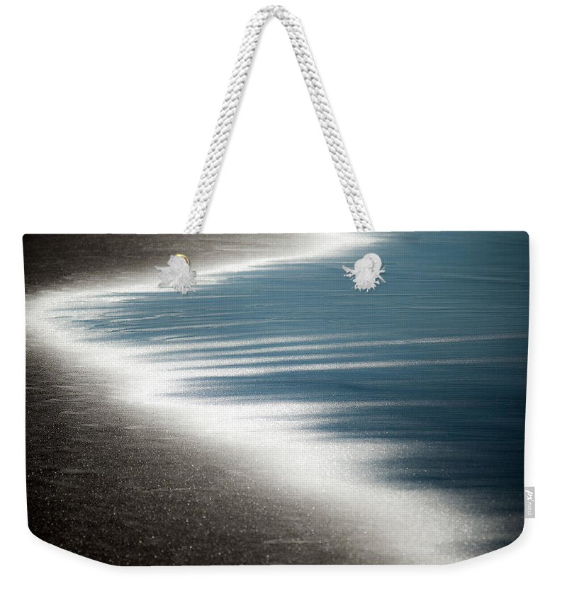 Beach Weekender Tote Bag featuring the photograph Ebb And Flow by Dave Bowman
