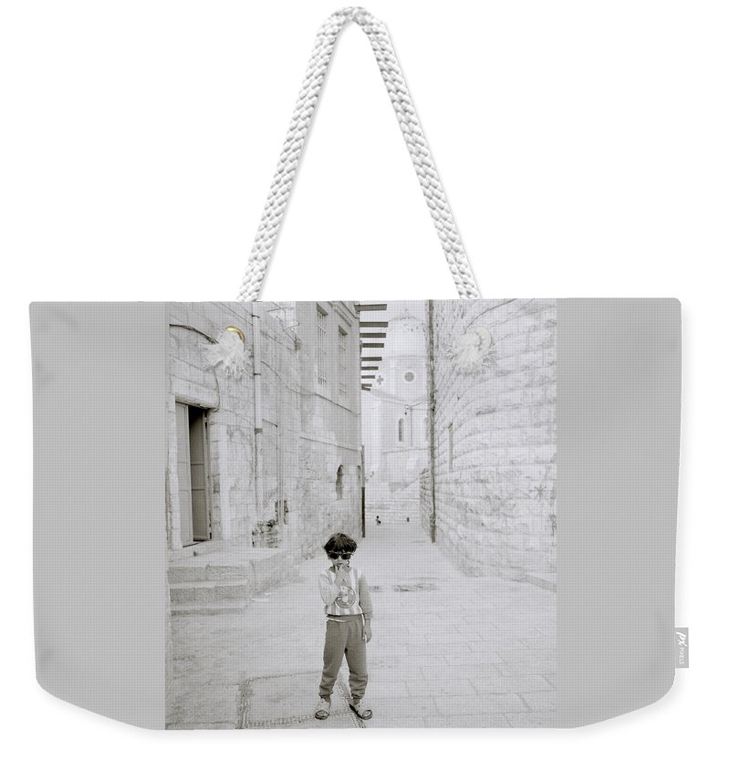 Children Weekender Tote Bag featuring the photograph Innocence Of Childhood by Shaun Higson