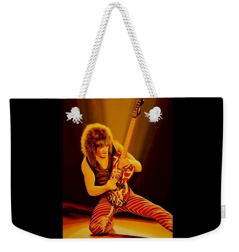 Van Halen Weekender Tote Bags