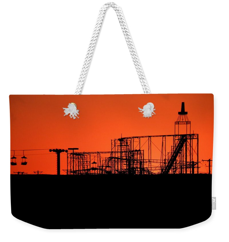 Western Weekender Tote Bag featuring the photograph El Bandido by M Pace