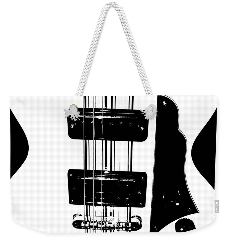 Music Weekender Tote Bag featuring the photograph Electric Deco by Chris Berry