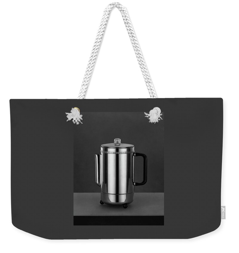 Home Accessories Weekender Tote Bag featuring the photograph Electric Percolator by Martinus Andersen
