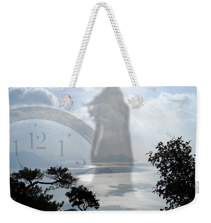 Fine Art Weekender Tote Bag featuring the digital art Eleven Eleven by Torie Tiffany