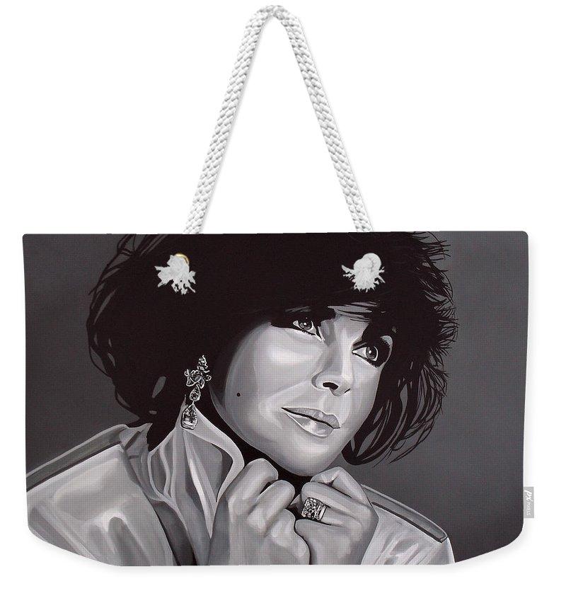 Elizabeth Taylor Weekender Tote Bags