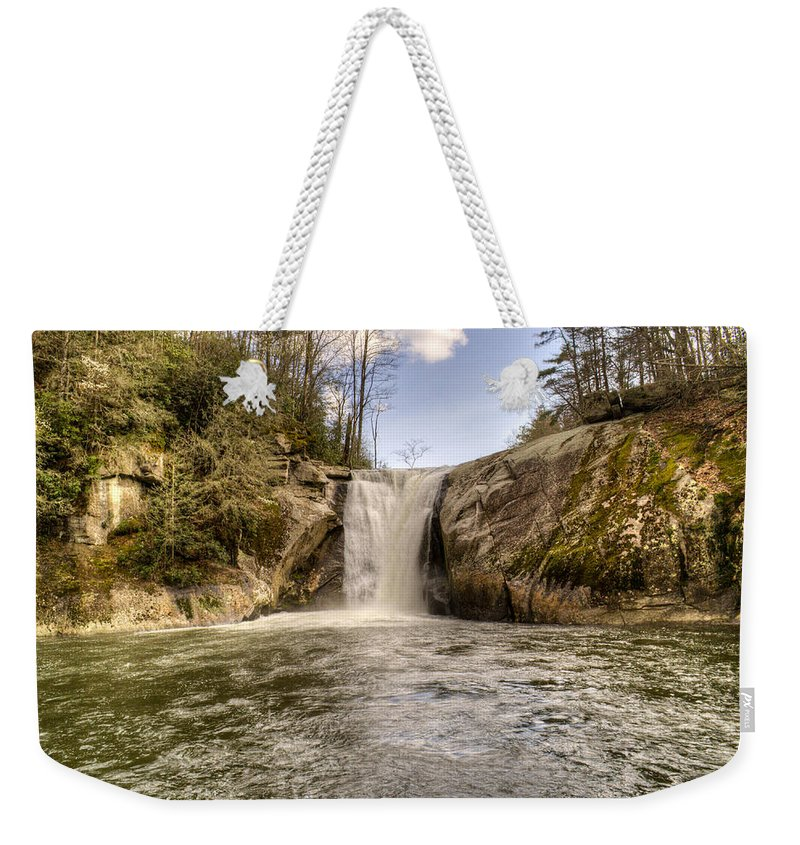 Elk Weekender Tote Bag featuring the photograph Elk Creek Falls 31 by Douglas Barnett