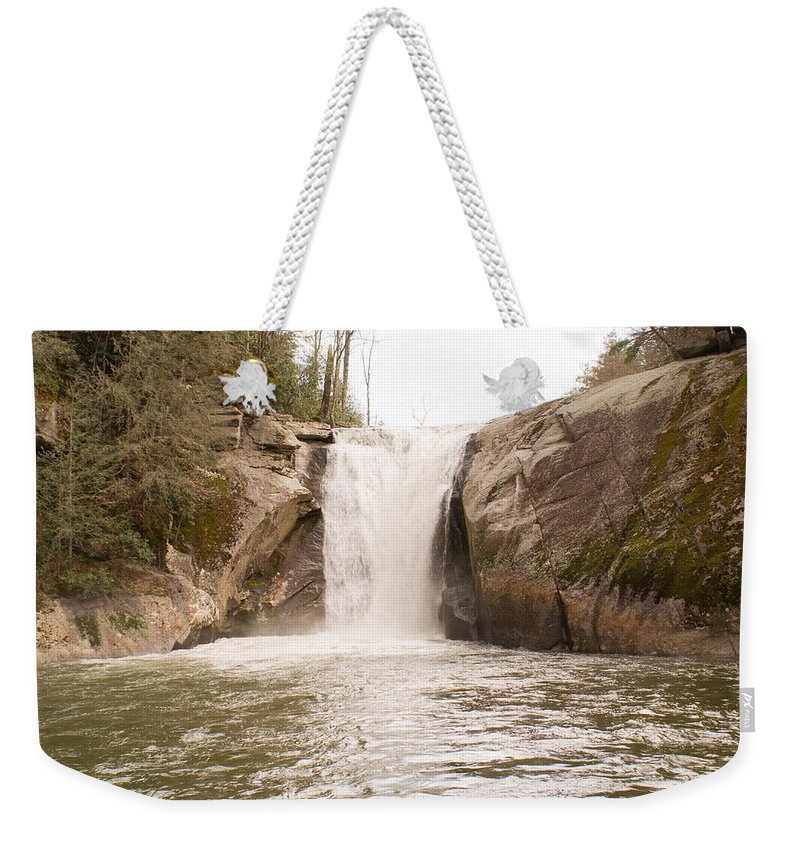 Elk Weekender Tote Bag featuring the photograph Elk Creek Falls 36 by Douglas Barnett