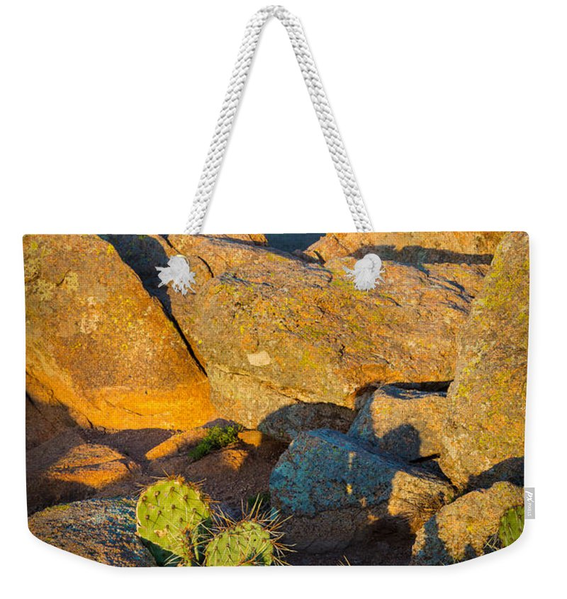 America Weekender Tote Bag featuring the photograph Elk Mountain Sunset by Inge Johnsson