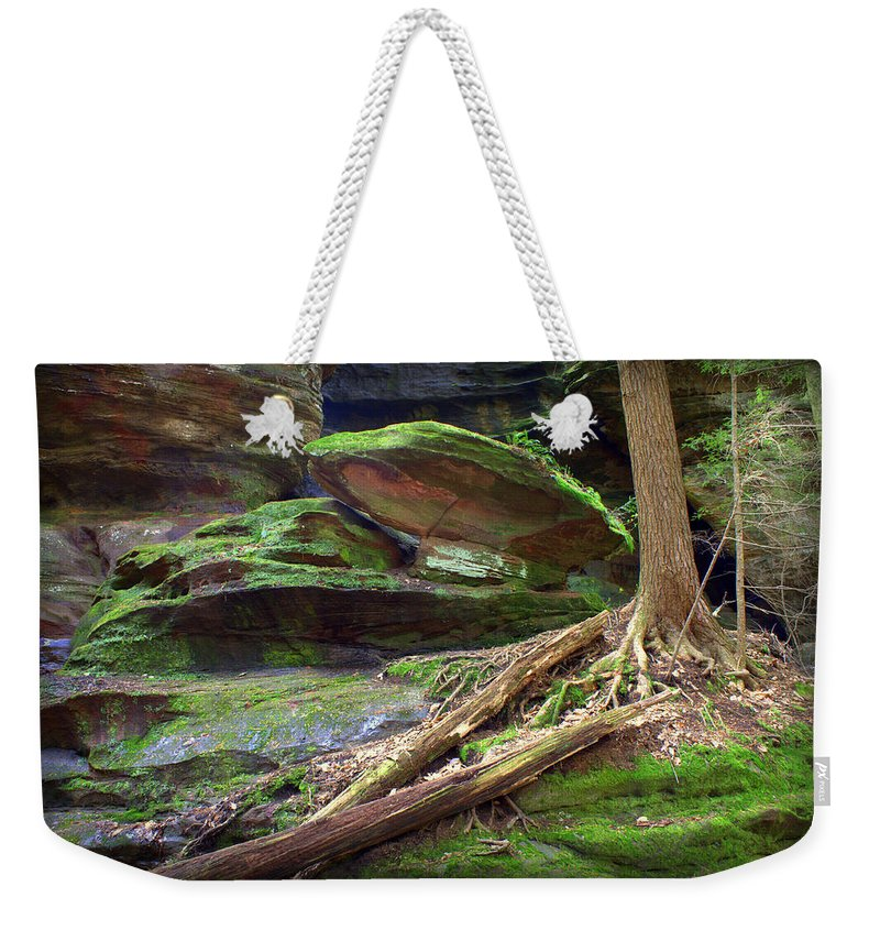 Hocking Hills Prints Weekender Tote Bag featuring the photograph Enchanting by J Allen