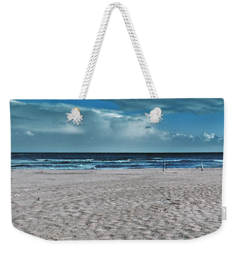 Background Weekender Tote Bag featuring the photograph Endless Day by Stelios Kleanthous