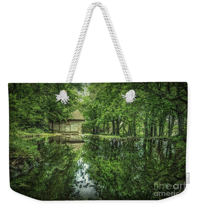 Bunratty Weekender Tote Bag featuring the photograph Endless Shades Of Green by Evelina Kremsdorf