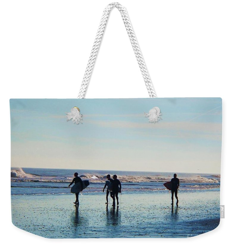 Landscape Weekender Tote Bag featuring the photograph Endless Summer by Eric Schiabor