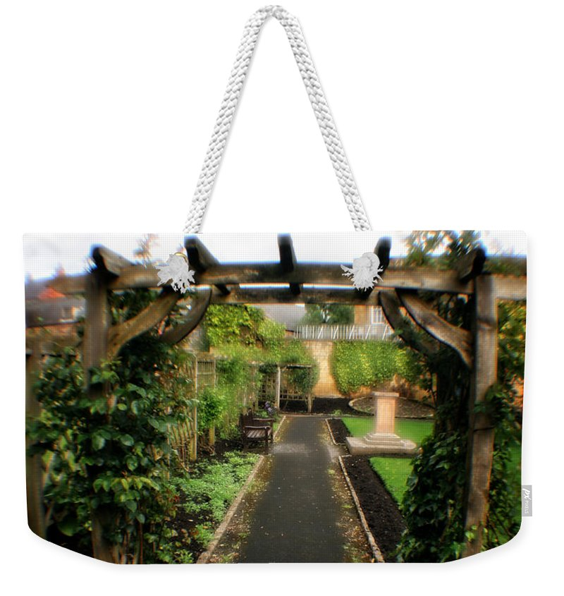 Garden Weekender Tote Bag featuring the photograph English Country Gardens - Series IIi by Doc Braham