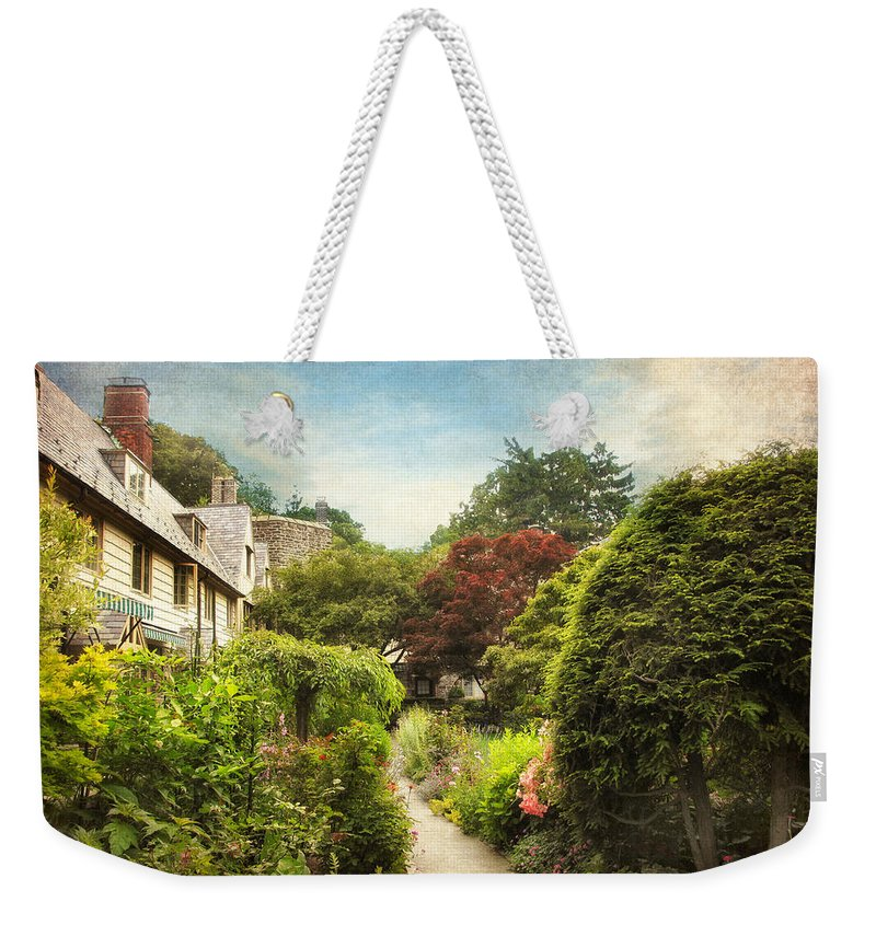 Garden Weekender Tote Bag featuring the photograph English Garden by Jessica Jenney