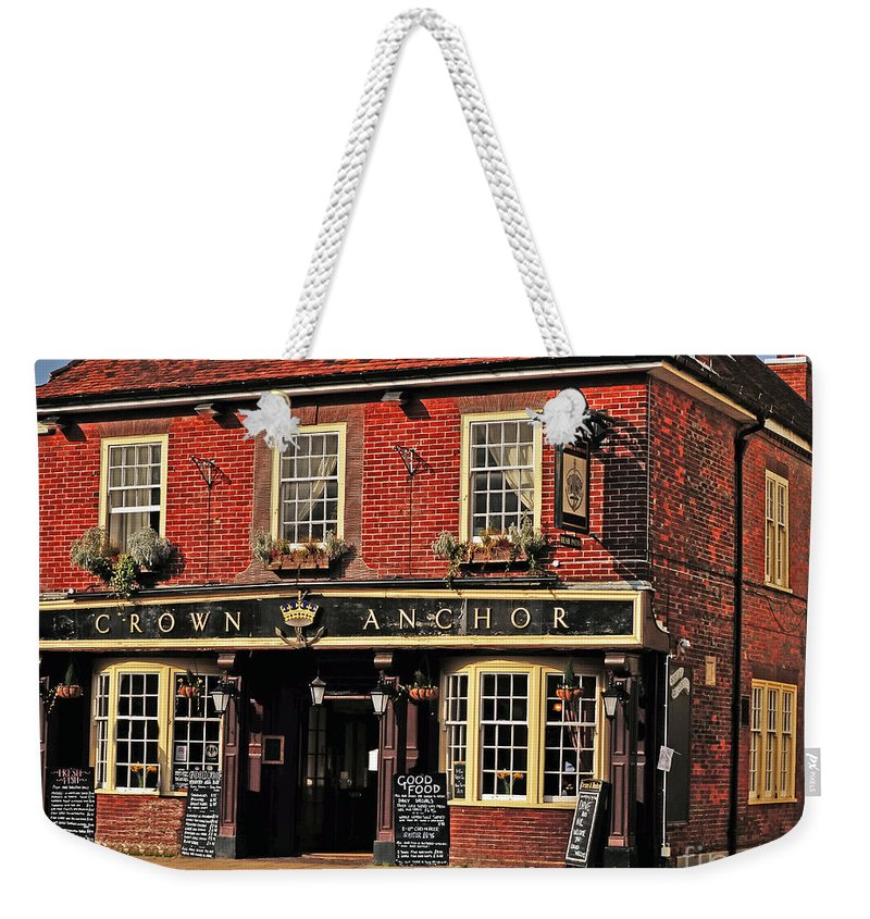 Travel Weekender Tote Bag featuring the photograph English Pub by Elvis Vaughn