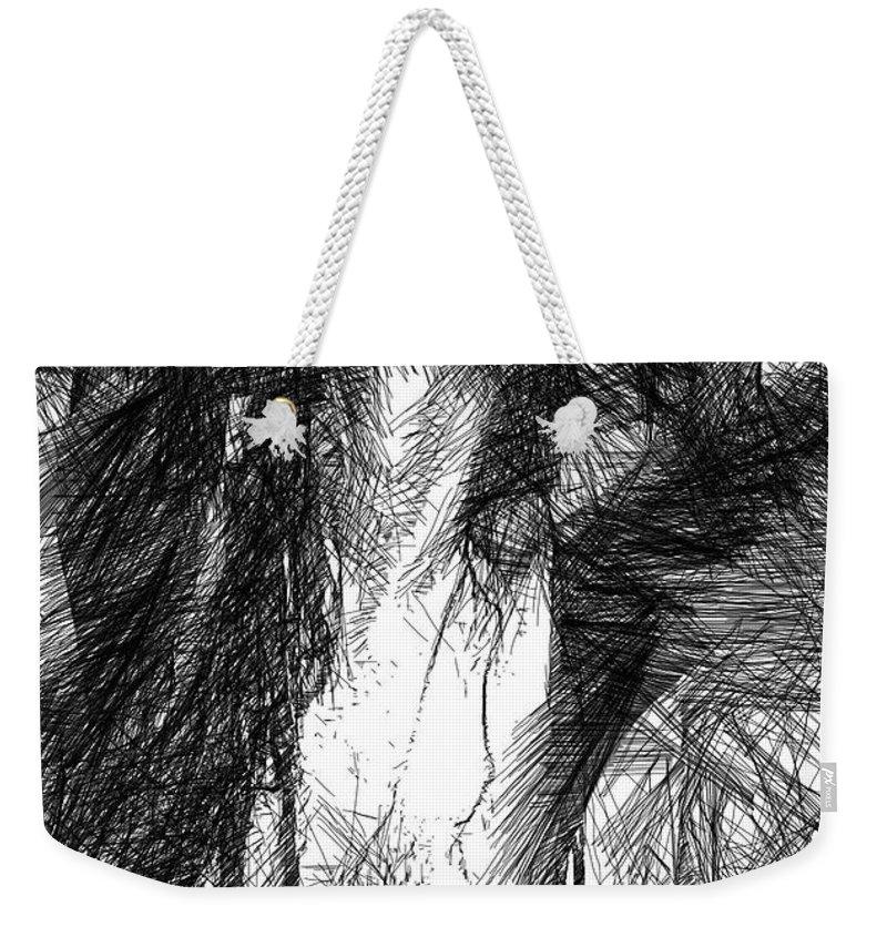 Art Weekender Tote Bag featuring the digital art Enjoy The Feeling by Rafael Salazar
