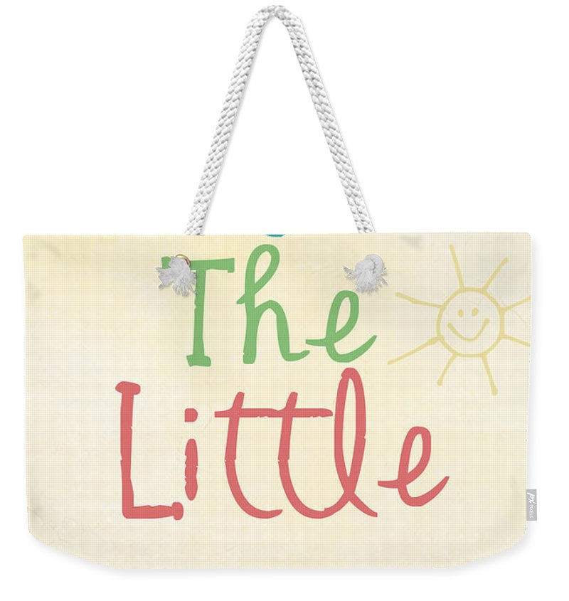 Little Things Photographs Weekender Tote Bags