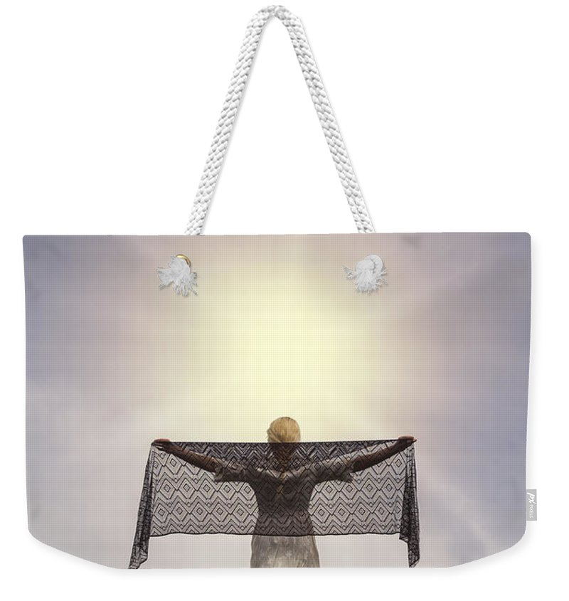 Lady Weekender Tote Bag featuring the photograph Enjoying The Sun by Joana Kruse