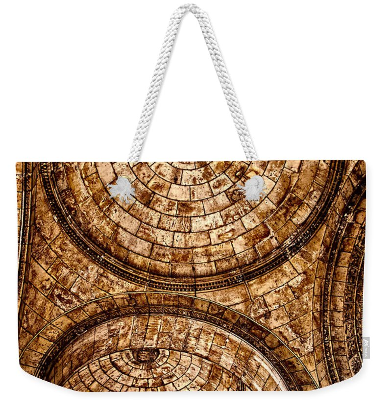 France Weekender Tote Bag featuring the photograph Entry To Sacre Coeur Basilica - Paris by Jon Berghoff