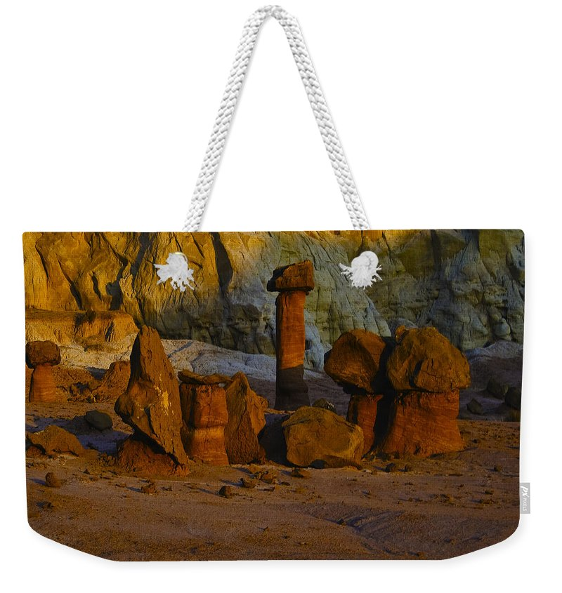 Canyon Weekender Tote Bag featuring the photograph Escalante 19 by Ingrid Smith-Johnsen