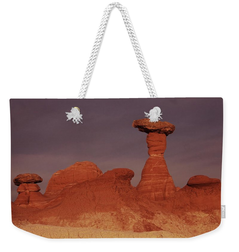 Canyon Weekender Tote Bag featuring the photograph Escalante 24 by Ingrid Smith-Johnsen