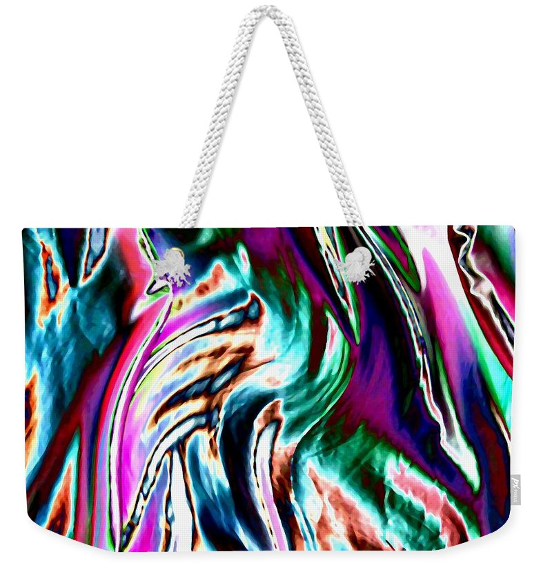Essence Weekender Tote Bag featuring the digital art Essence by Will Borden