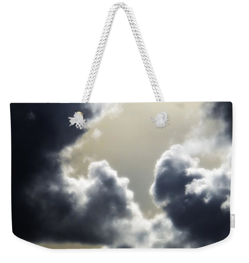 Sky Weekender Tote Bag featuring the photograph Eternal Hope by Donna Blackhall