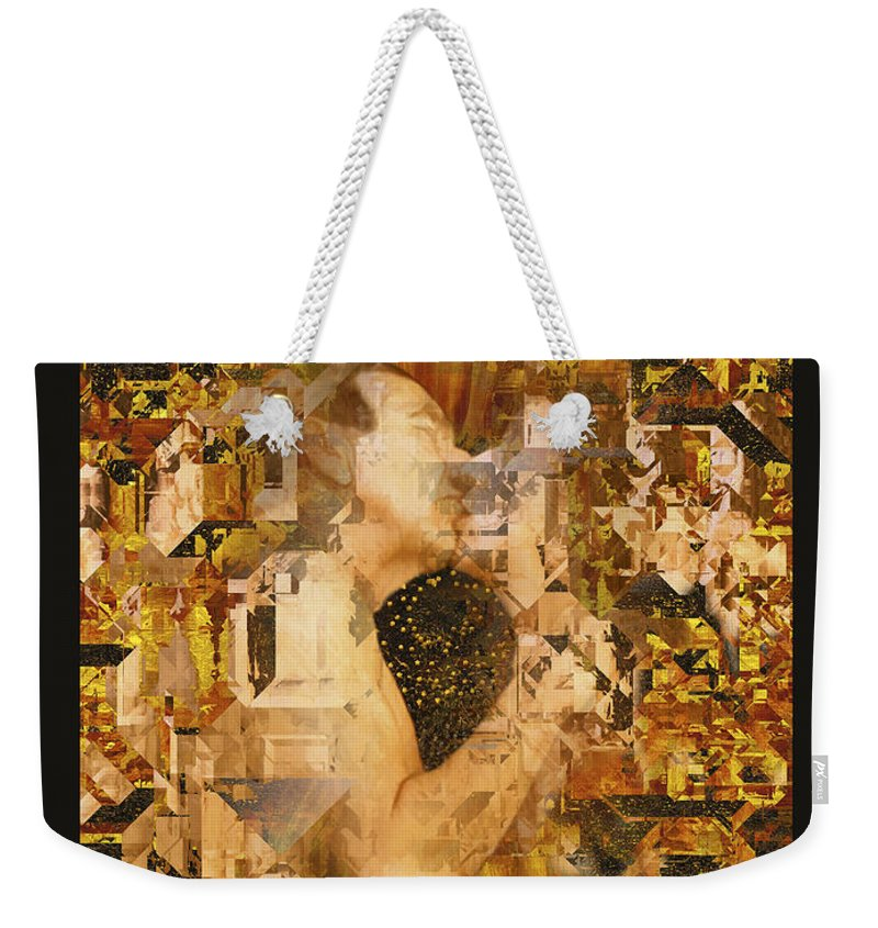 Nude Weekender Tote Bag featuring the photograph Eternally Yours by Kurt Van Wagner