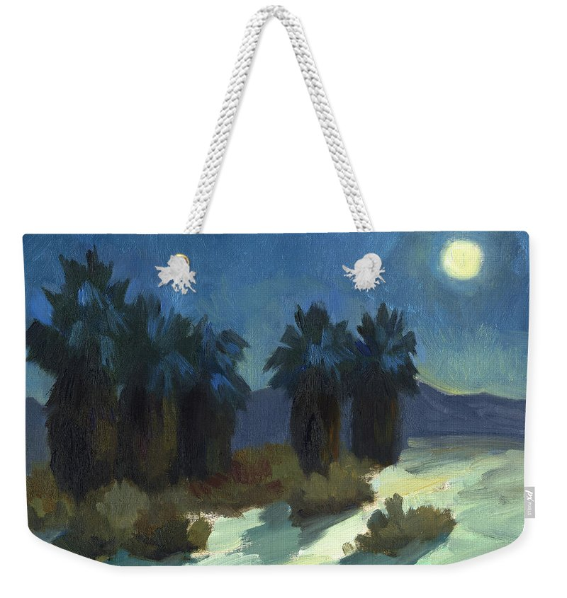 Evening Solitude Weekender Tote Bag featuring the painting Evening Solitude by Diane McClary