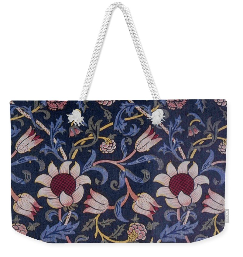 William Weekender Tote Bag featuring the tapestry - textile Evenlode Design by Philip Ralley