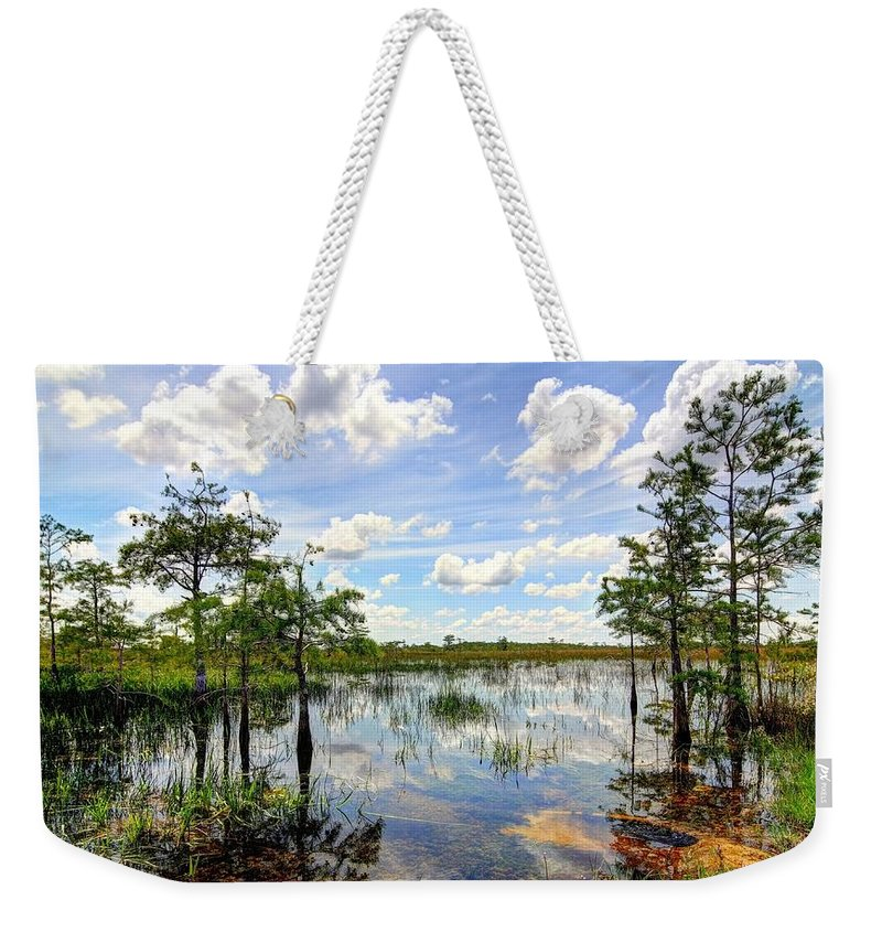 Everglades Weekender Tote Bag featuring the photograph Everglades Landscape 8 by Rudy Umans