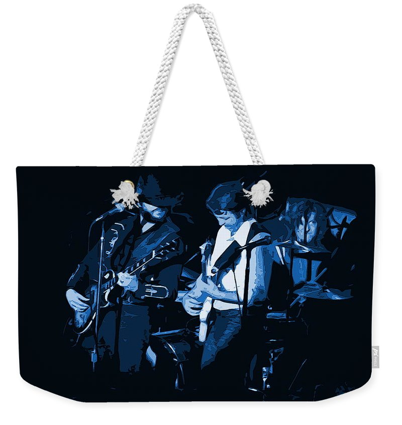 Marshall Tucker Weekender Tote Bag featuring the photograph Everyday Blues With Marshall Tucker by Ben Upham