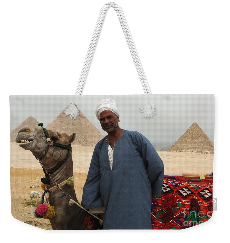 Pyramids Weekender Tote Bag featuring the photograph Everyone Smile by Bob Christopher