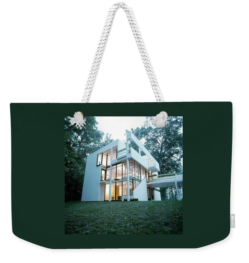 Exterior Of Mr. And Mrs. Jay Hanslemann's Weekender Tote Bag