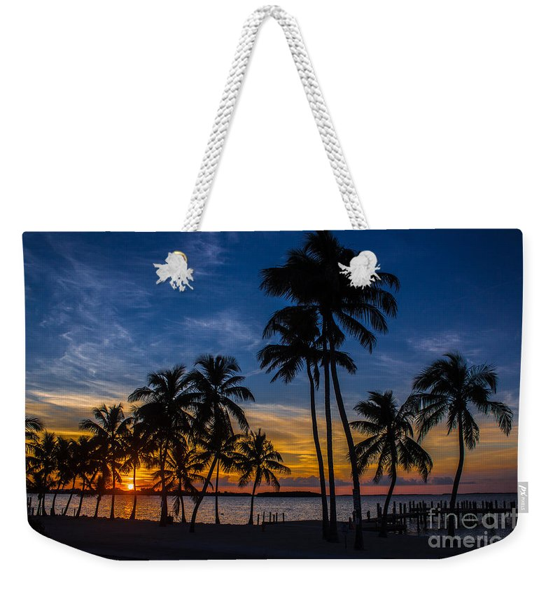 Key Largo Weekender Tote Bag featuring the photograph Eye Candy Desire by Rene Triay Photography