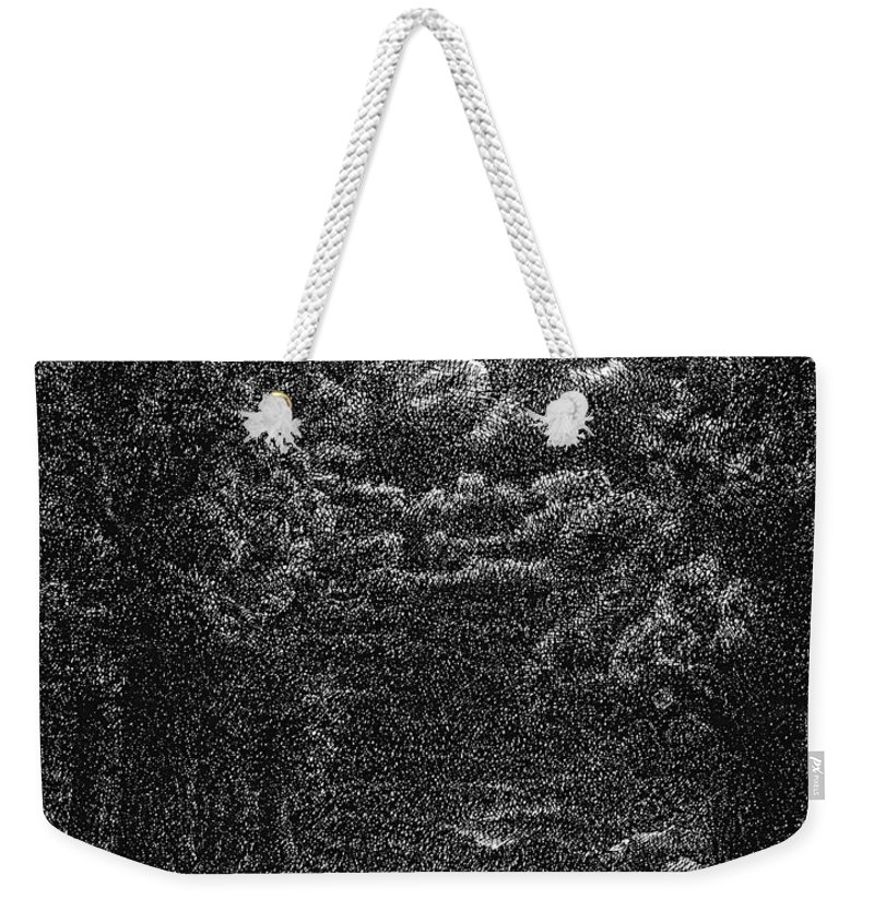 Clouds Weekender Tote Bag featuring the drawing Pen And Ink Clouds 1 by Karma Moffett